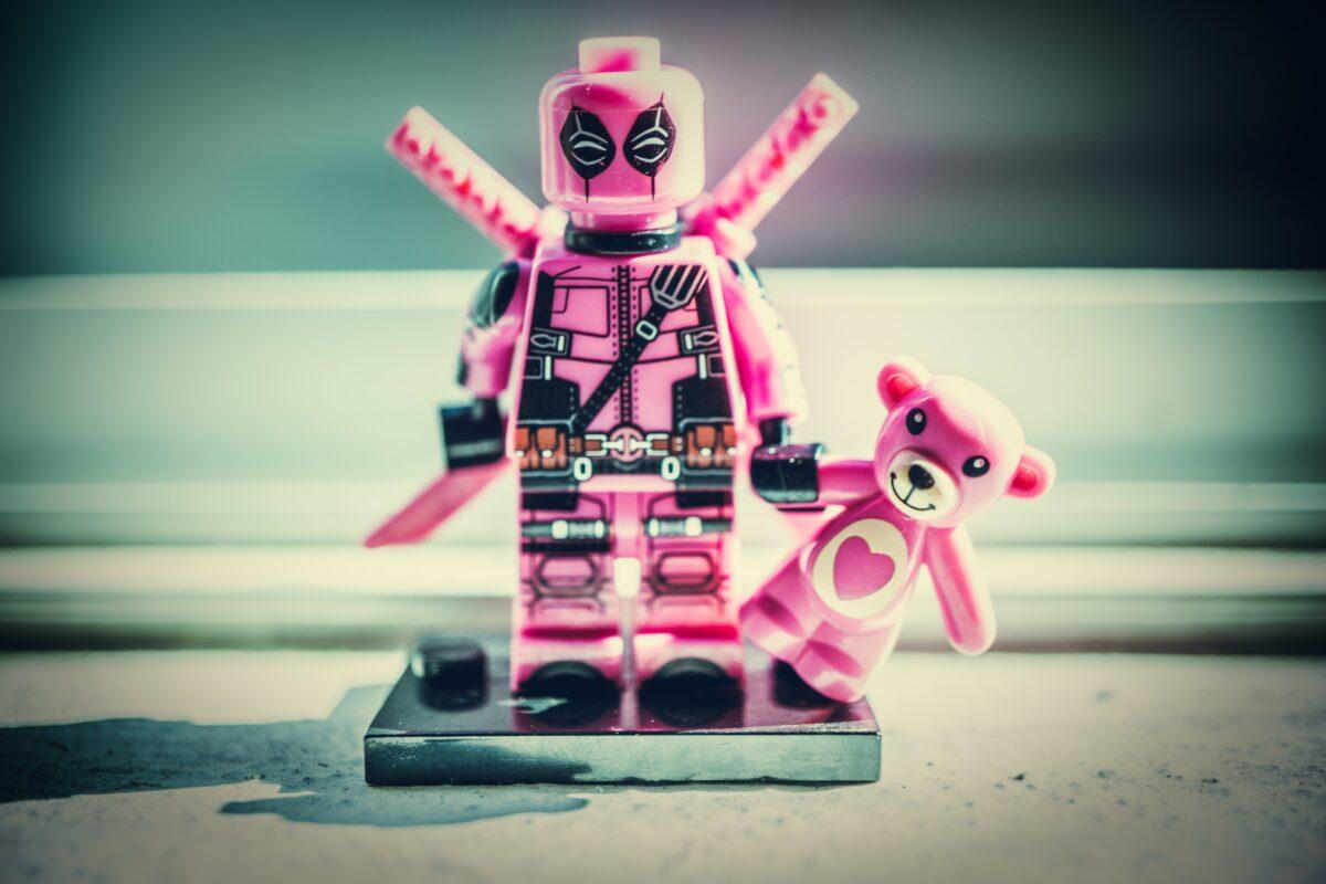 Deadpool minifig